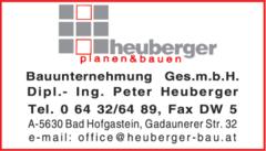 Bauunternehmen Heuberger